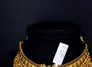 22k Huge Antique Peacock Choker Necklace Design
