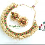 Imitation Pearl Choker Set From Vriksham