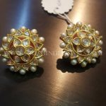 Bold Gold Ear Stud Design