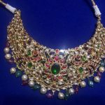 22K Gold Kundan Choker Necklace