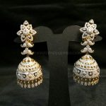 Diamond Jhumka From Sri Balaji Jewellers