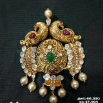Gold Antique Pachi Pendant Design