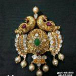 Gold Antique Pachi Pendant Design