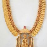 Gold Plated Pure Silver Kasu Haram