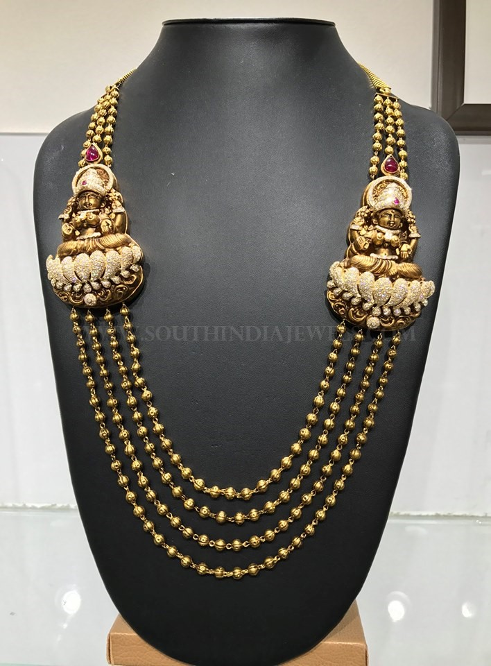 Antique Lakshmi Haram From Naj Jewellery