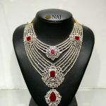 Bold Bridal Diamond Necklace From Naj Jewellery