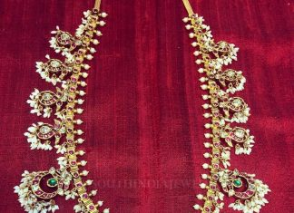Classic Gold Antique Necklace From Parnicaa