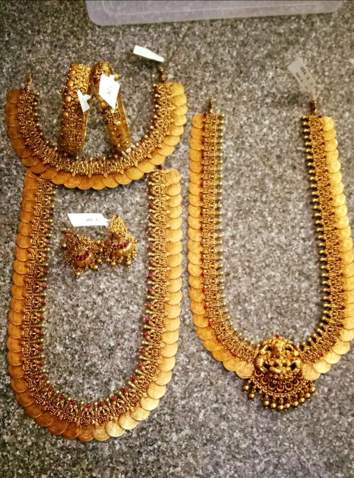 Gold Kasumalai Set From Rohit Jewellers