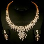 Traditional Diamond Necklace Set
