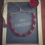 Beaded Kemp Necklace From Aabharanam