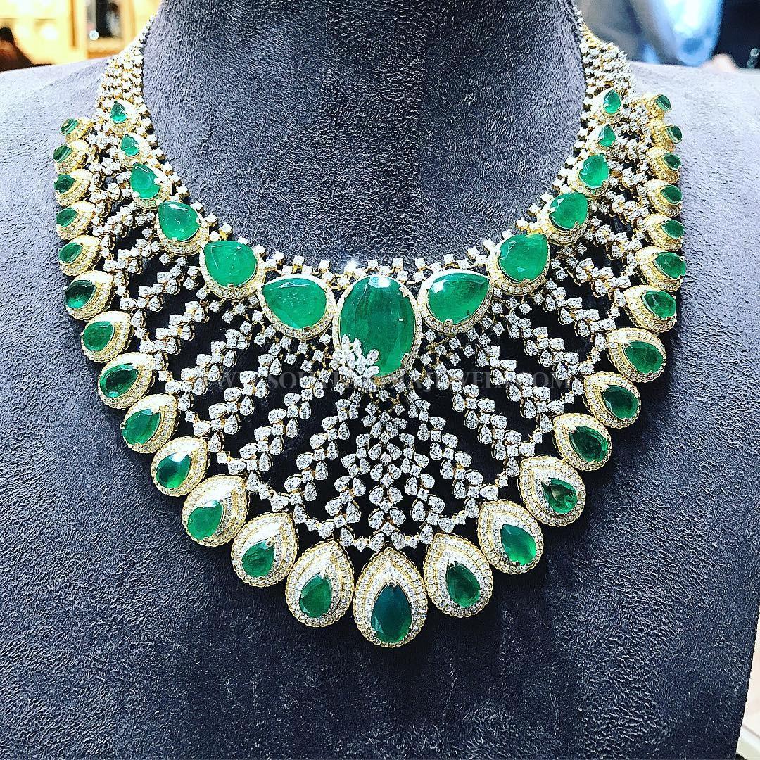 Stunning Diamond Choker From P.Satyanarayan & Sons