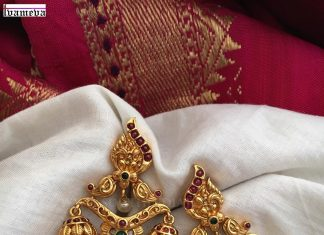 Bold Antique Jhumka From Tvameva