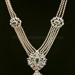 Diamond Haram From Lakshmi Jewellers