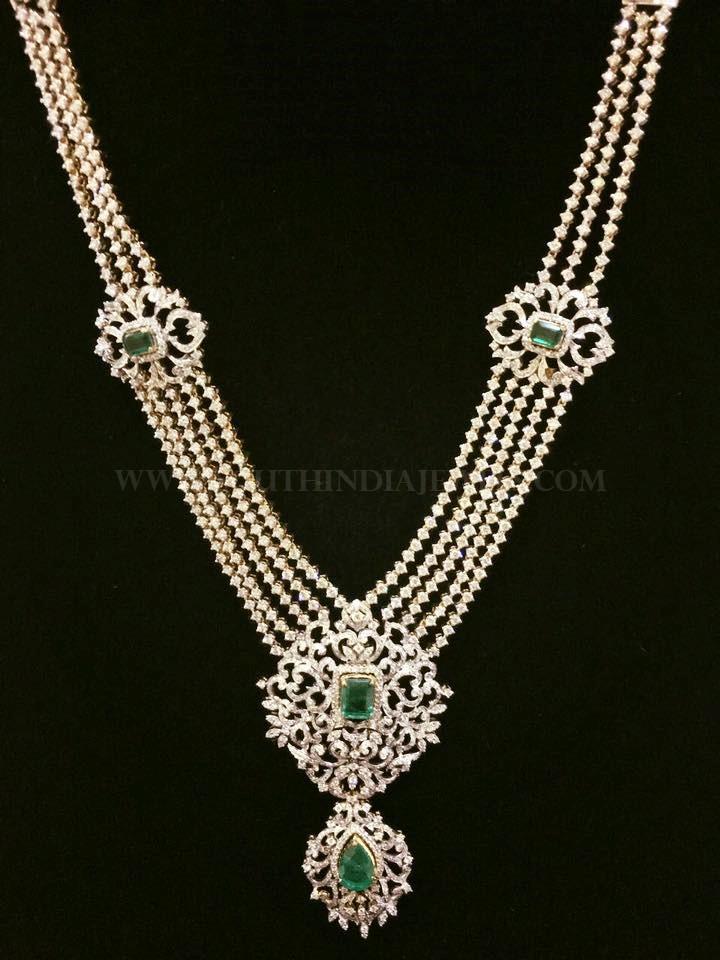 Diamond Haram From Lakshmi Jewellers