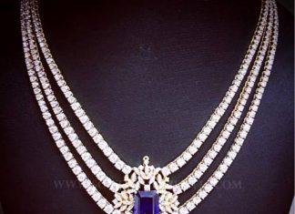 Diamond Solitaire Necklace Design