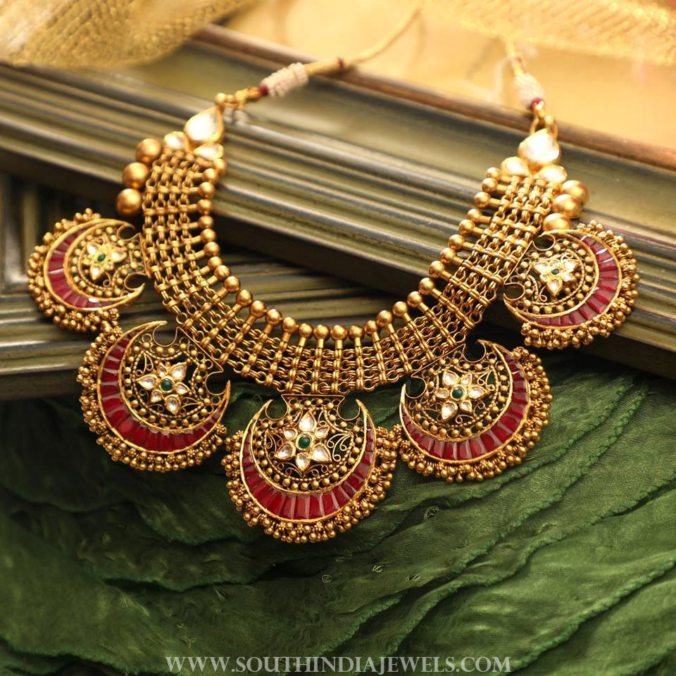 maang set with plated bridal gold exquisite necklace lct product tikka studded apara