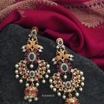 Gold Plated Antique Earrings From Tvmeva
