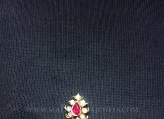 Simple Traditional Diamond Pendant