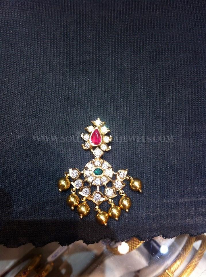 Simple Traditional Diamond Pendant