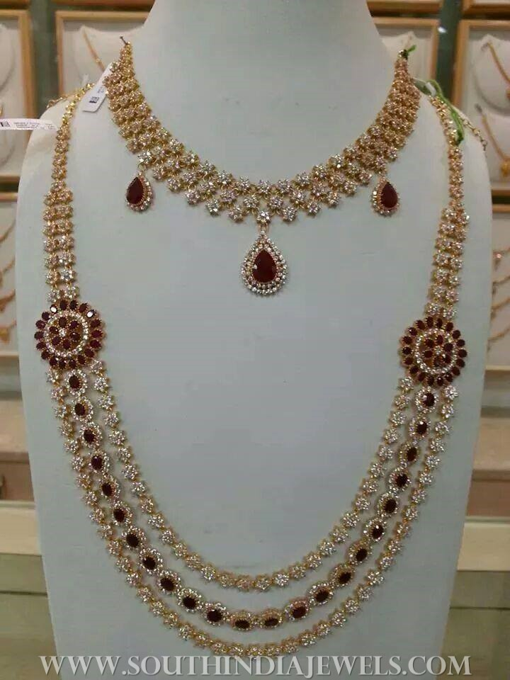 Fashion week Necklace gold designs catalogue for woman