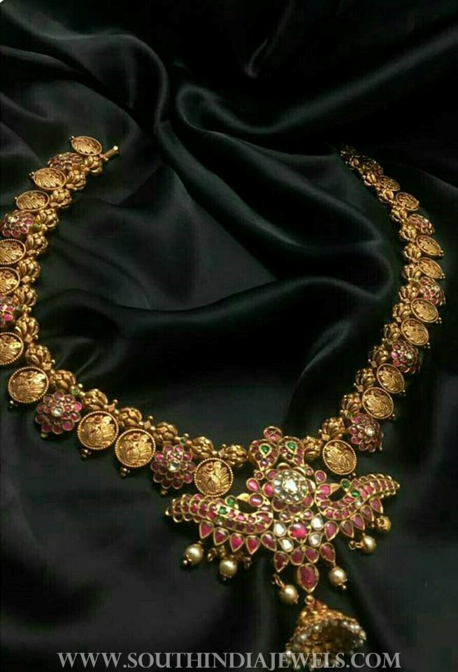150 Grams Gold Kundan Necklace