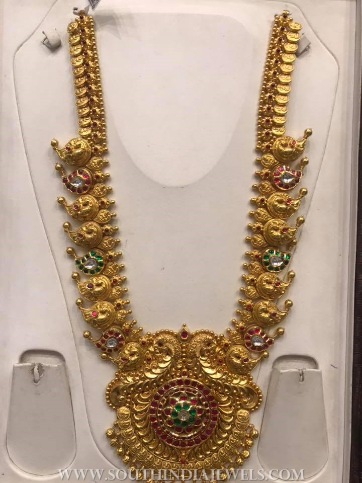 200 Grams Gold Long Necklace From PSJ