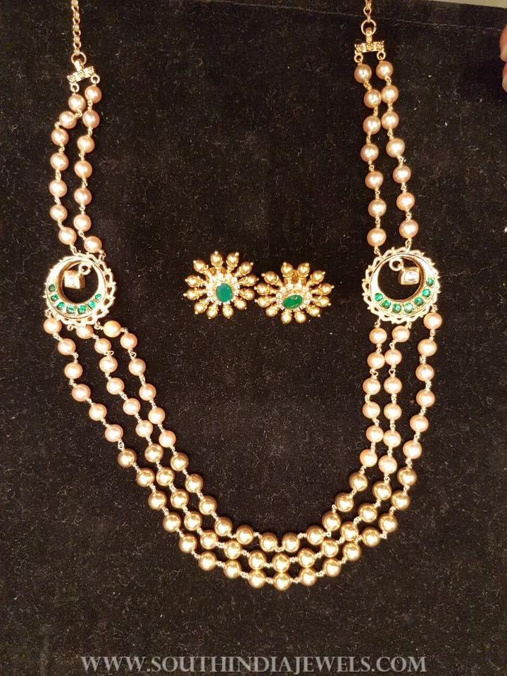 38 Grams Gold Pearl Mala