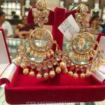 40 Grams Gold Chandbali Earrings Design