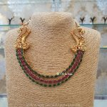 Ruby Emerald Step Necklace From BCOS Its Silver
