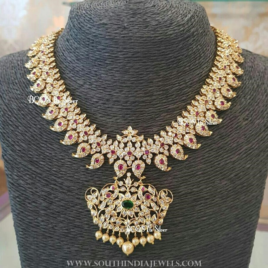Gold Plated Mango Necklace from BCOS ITs Silver