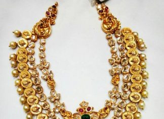 Gold Step Necklace From Mor Jewellers