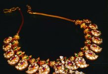 Antique Mango Necklace From Manjula Jewels