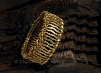 Designer Gold Bangle From karpagam Jewellers