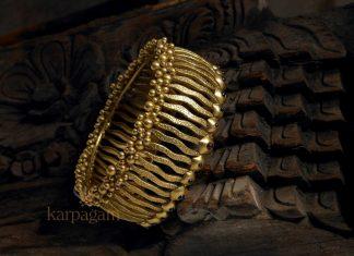 Designer Gold Bangle From karpagam Jewellers
