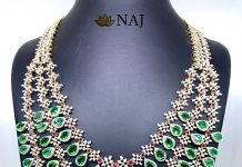 Diamond Step Haram From Naj Jewellery