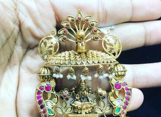 Gold Pendant From P.Satyanarayan & Sons Jewellers