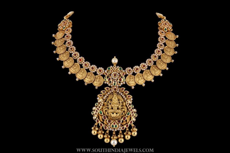 Gold Temple Necklace From