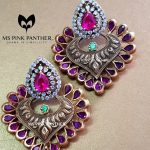 Gold Plated Antique Ear Stud From Ms Pink Panther