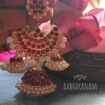 Latest Kemp Jhumka From Aabharanam