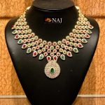Light Weight CZ Bridal Jewellery