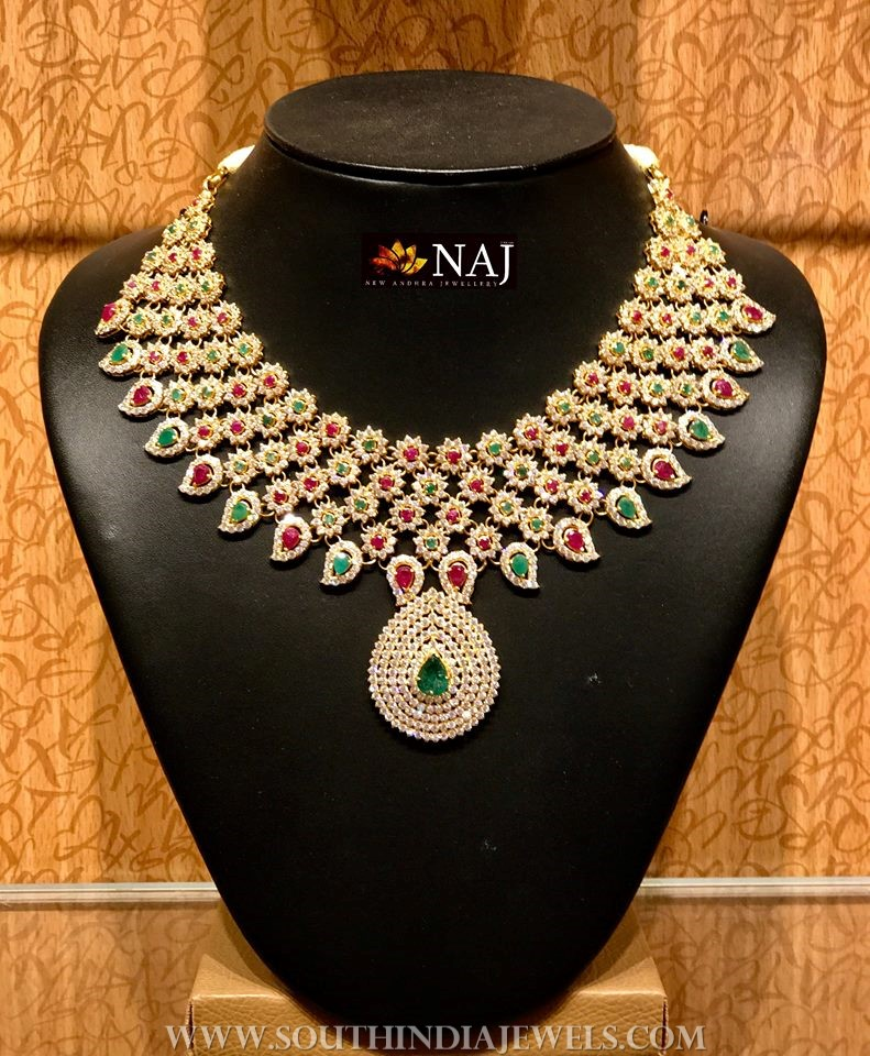 Light Weight CZ Bridal Jewellery