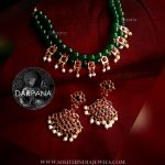 Beaded Kemp Necklace and Earrings
