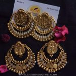 Big Imitation Chandbali Earrings From Quills & Spills