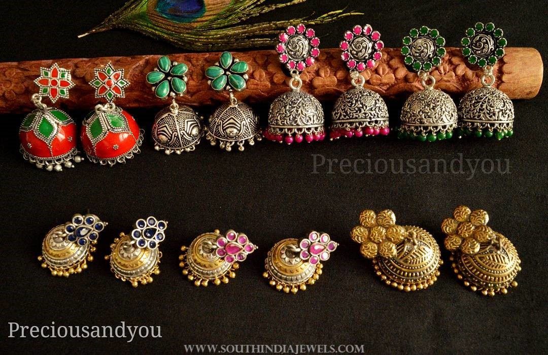 Colorful Jhumkas From Precious and You