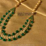 Matt Finish Imitation Pearl Necklace