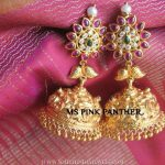 Gold Plated Bridal Jhumka Model
