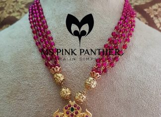 Antique Ruby Mala From Ms Pink Panther