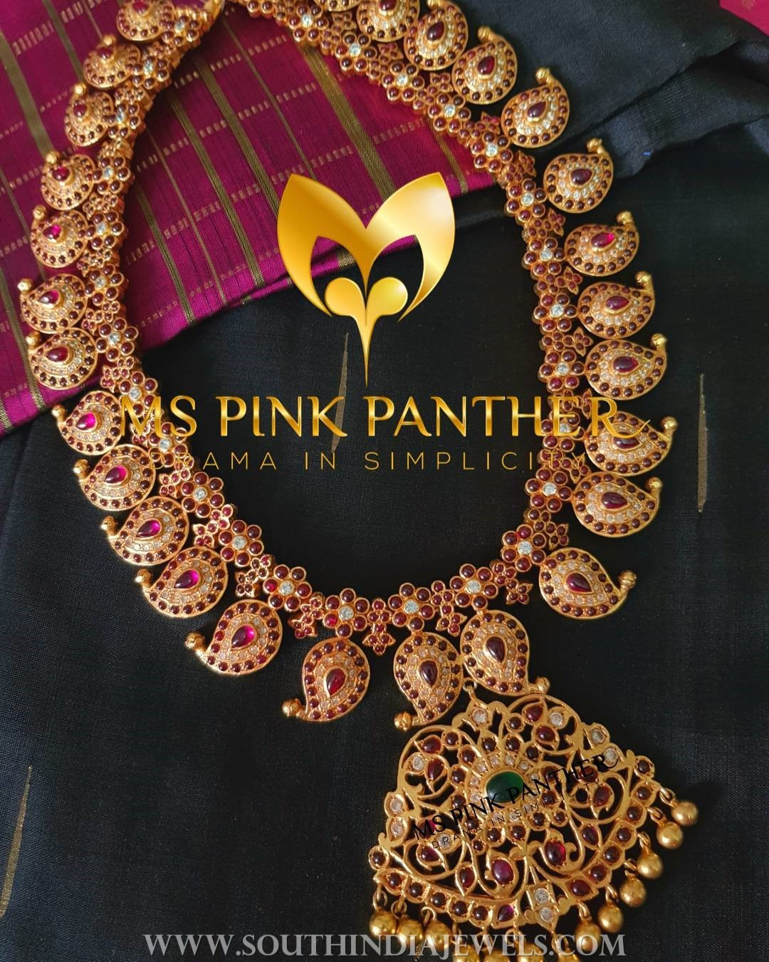 Kemp Ruby Mango Necklace From Ms Pink Panther