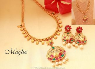 Short Imitation Necklace From Magha Store