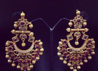 Ruby Earrings From Accessory Villa